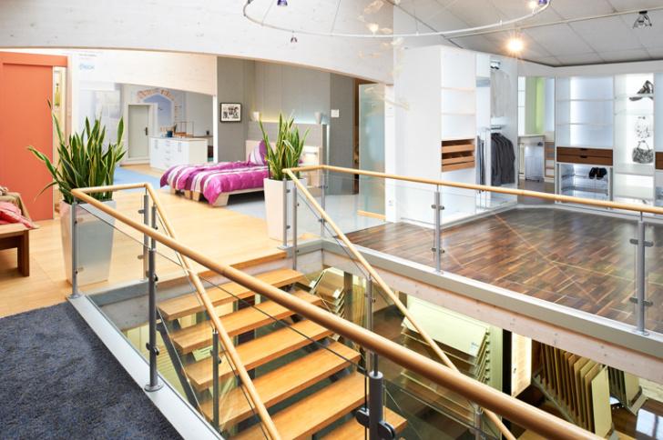 Das SchlafGut-Studio im ersten Stock in Isernhagen